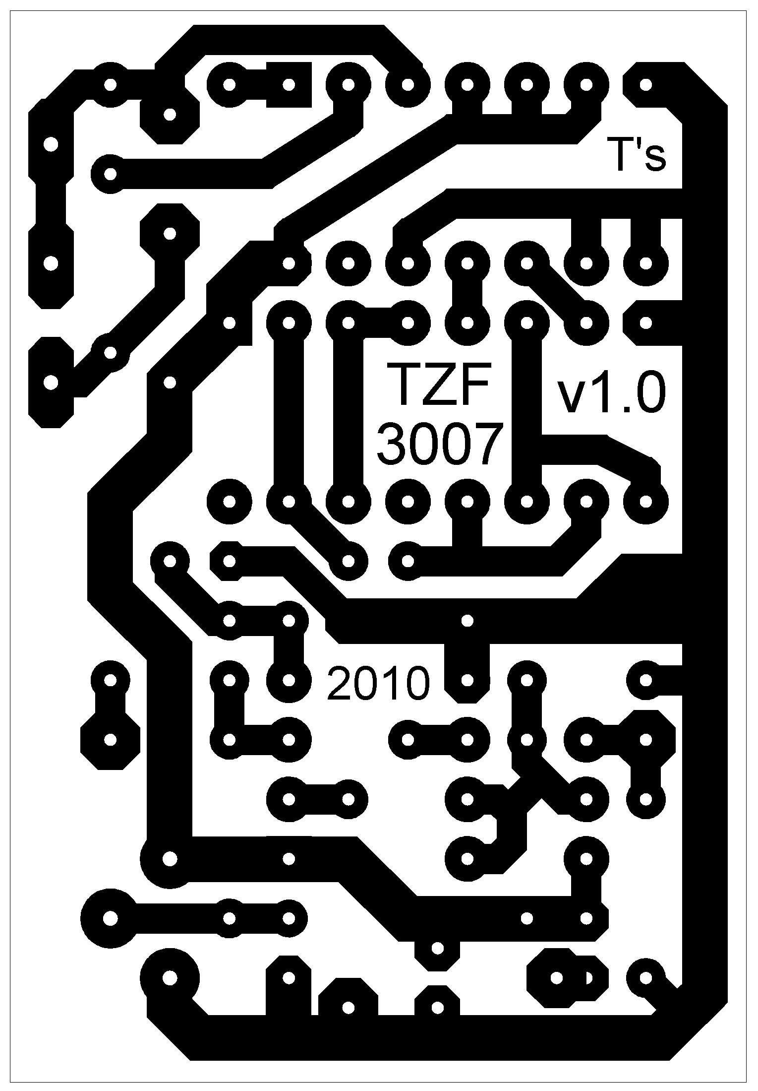TZF3007 - TZF (short delay) module, MN3007 based